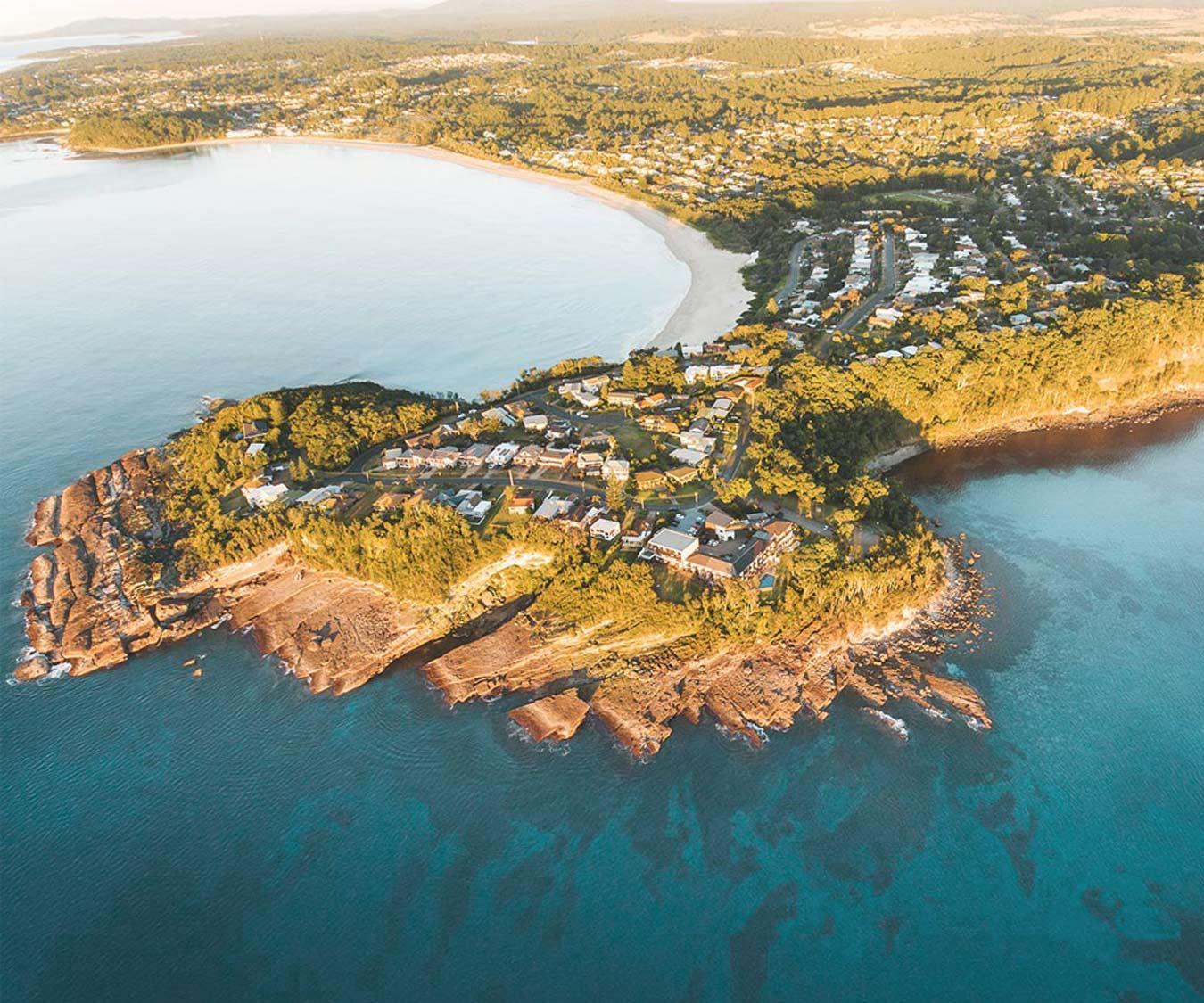 Mollymook-Coastline;